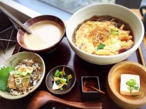 【カレッタ汐留46階】☆高級レストランで豪華な1000円和食ランチ☆