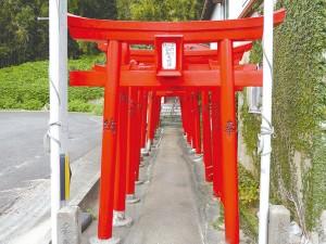 福岡市西区今津にある豆腐をお供えする神社