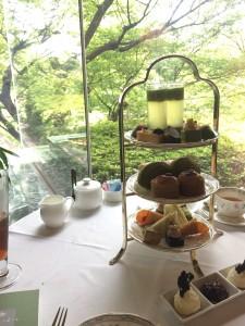 お茶の京都 × ホテル椿山荘東京 コラボレーションアフタヌーンティー