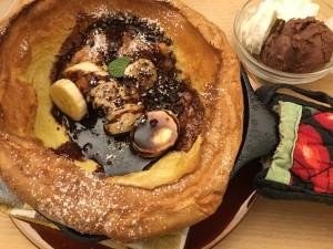 【自然&ダッチベイビーパンケーキ】森の間CAFE@大通