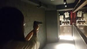 大人の空間♡銃が撃てるbarへ
