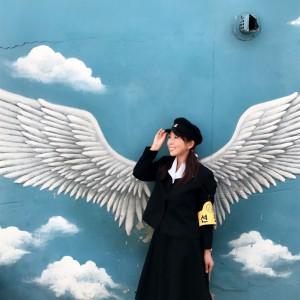 【韓国旅行】韓国で大人気!梨花洞壁画村を制服で散歩?!