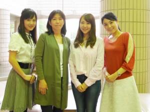 神奈川フィルハーモニー管弦楽団の首席奏者(Fl・Hr)と女子トーク♪