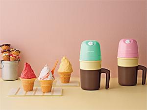 アイスクリームメーカーをプレゼント♪