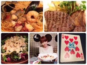 火曜日はテーブルマジックが見れる!新橋の新鮮な海鮮☆シーフードバル☆