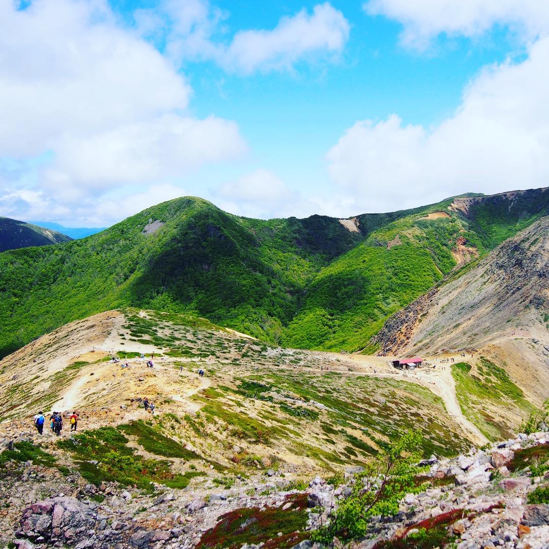 ロープウェイで行ける日本百名山:栃木県・那須岳