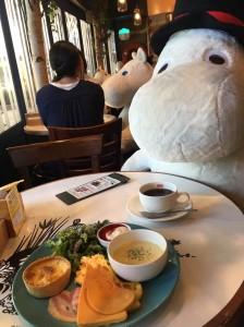 ムーミンカフェでモーニング♡