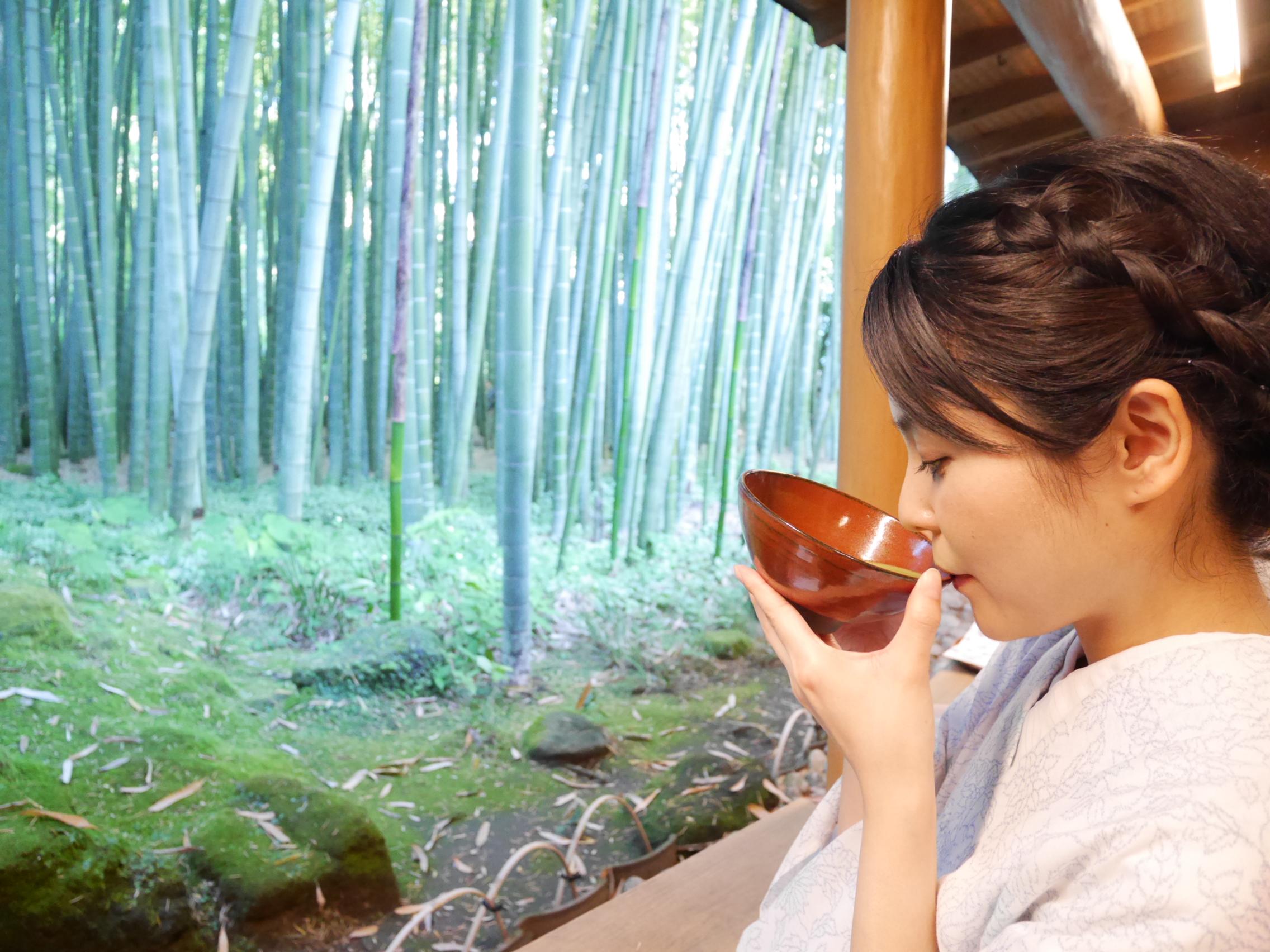 【鎌倉】竹のお庭で「お点前頂戴いたします」