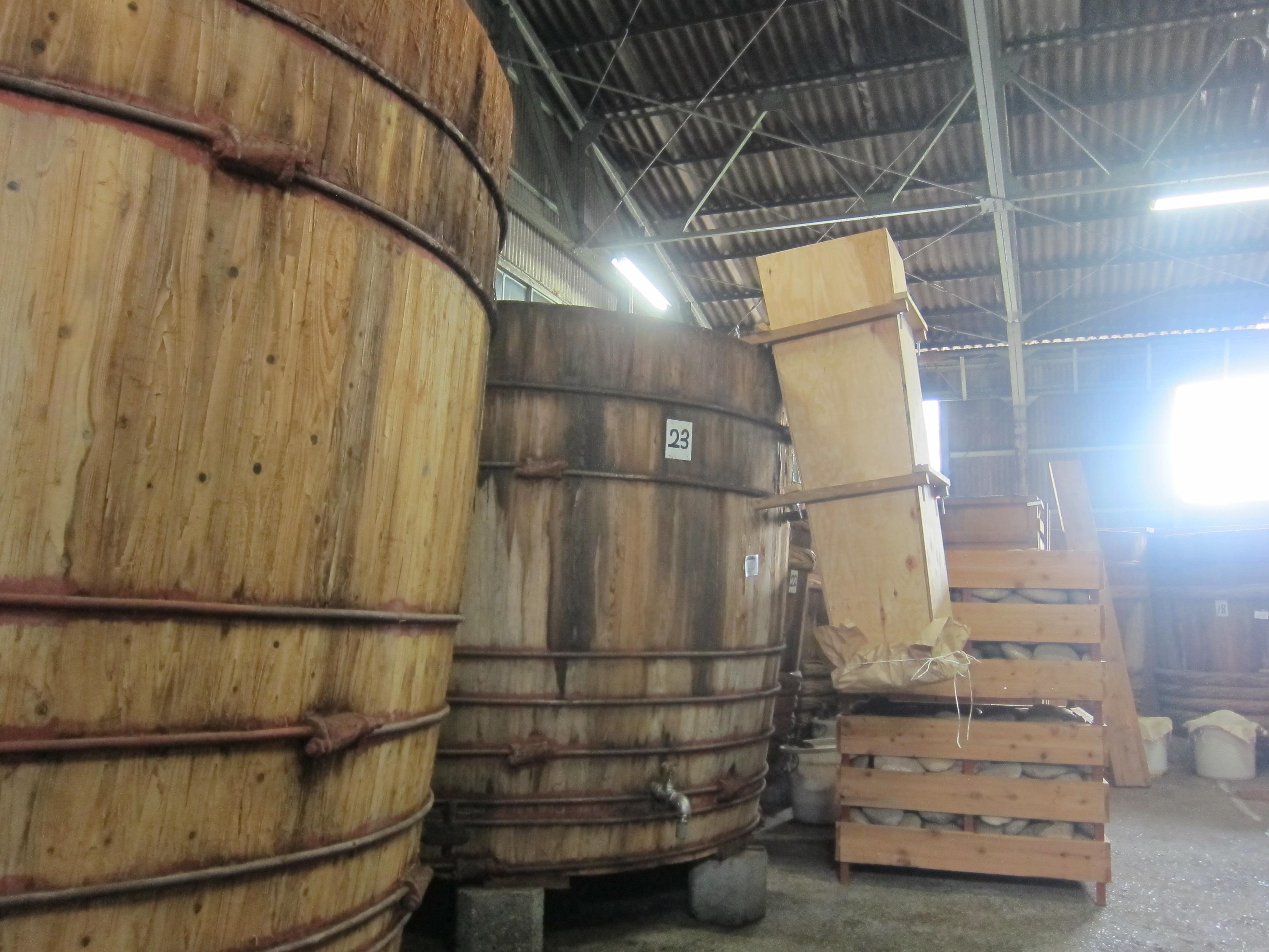 伝統製法で作る岐阜のたまりやさん   *山川醸造***