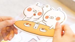ゆるかわすぎる♡ スペシャルコラボ「うさまるカフェ」第2弾登場!