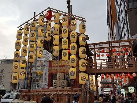 京都は祇園祭だよ❤