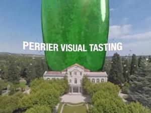 視覚×味覚で南仏へトリップ♪  「PERRIER VISUAL TASTING ~とびっきりの味覚体験を~」