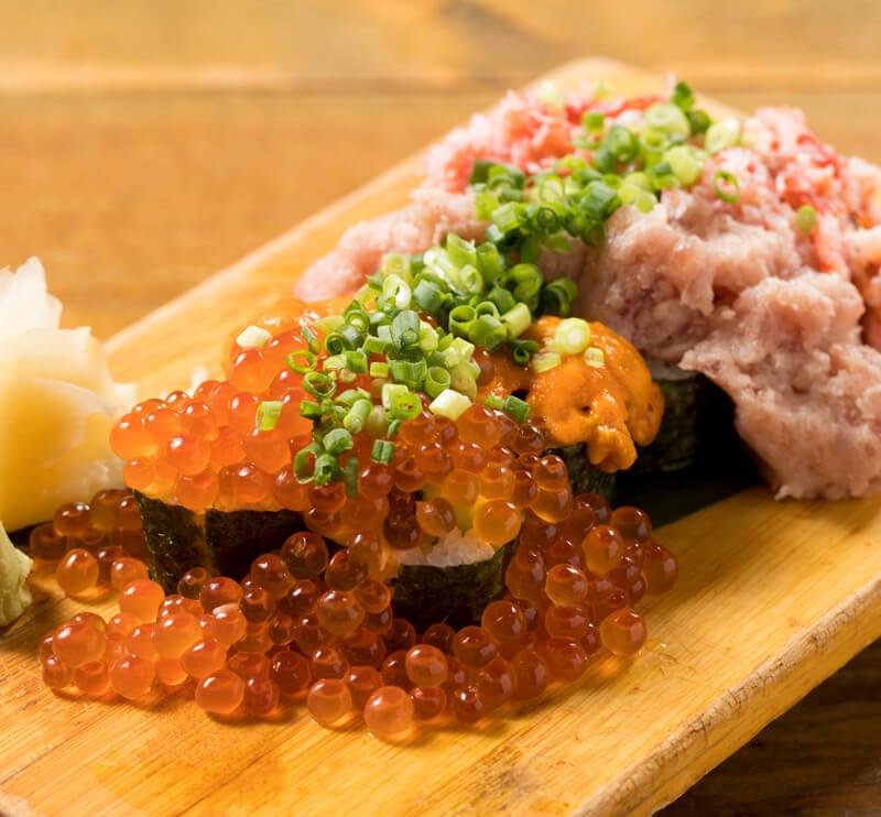名物! こぼれ寿司