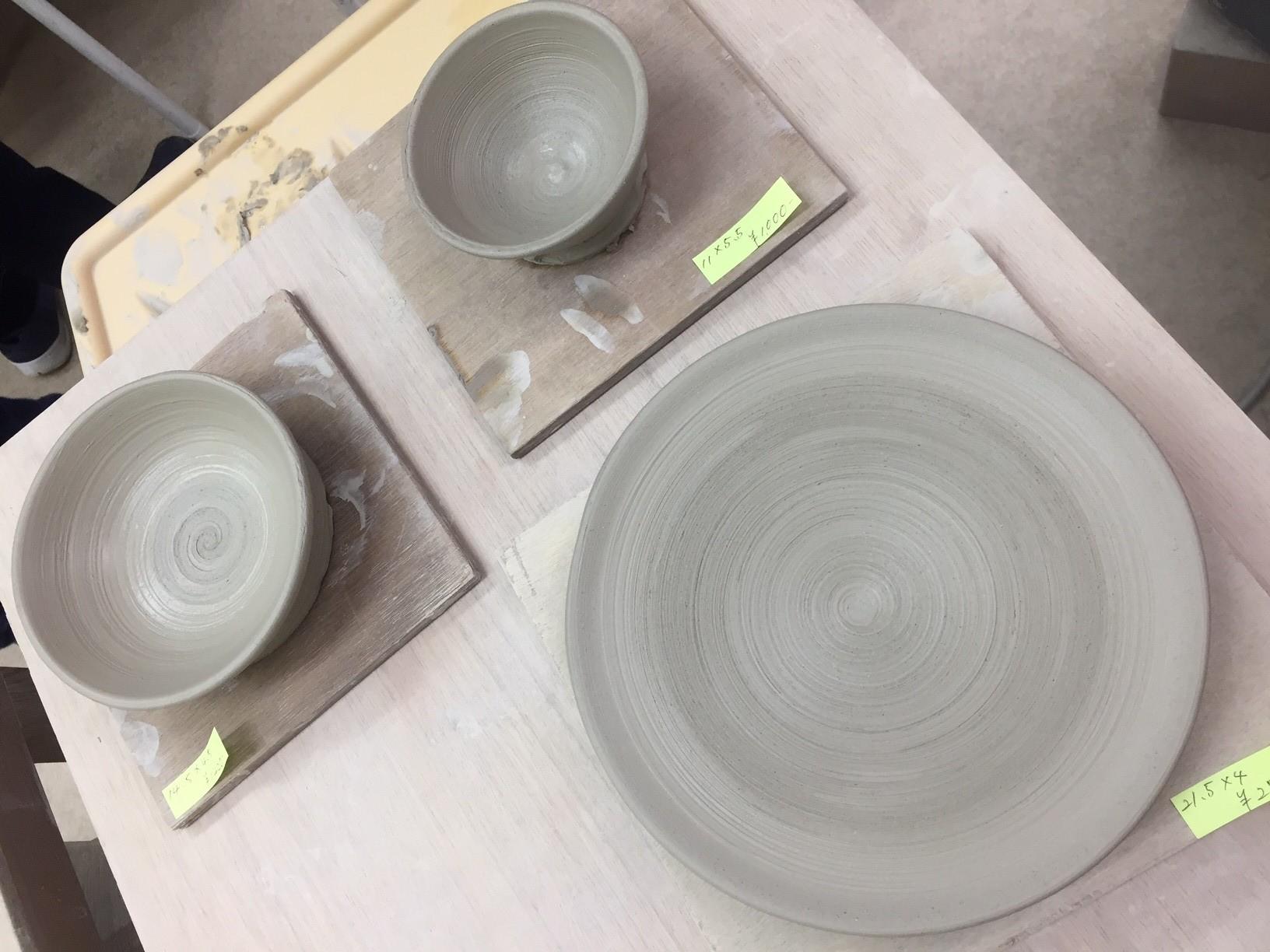 東京で陶芸食器作り体験3500円!!電動ろくろで予想以上の完成度!!