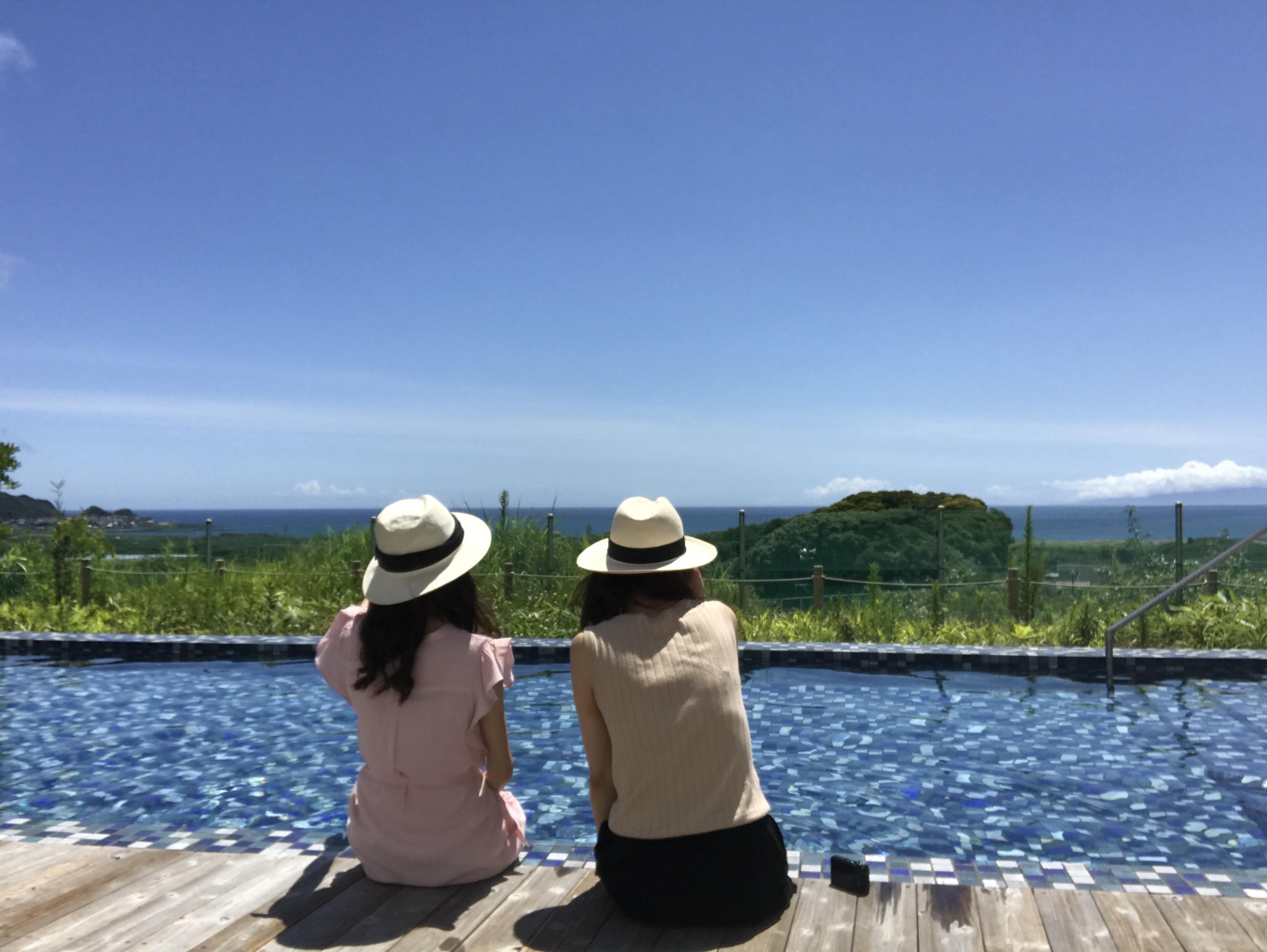 夏満喫してます!!館山に行ってきました