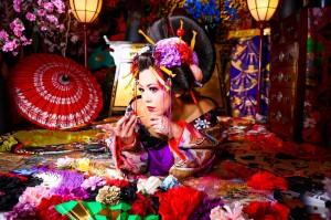 京都☆女子一人旅満喫中!!花魁体験してみたよ!!