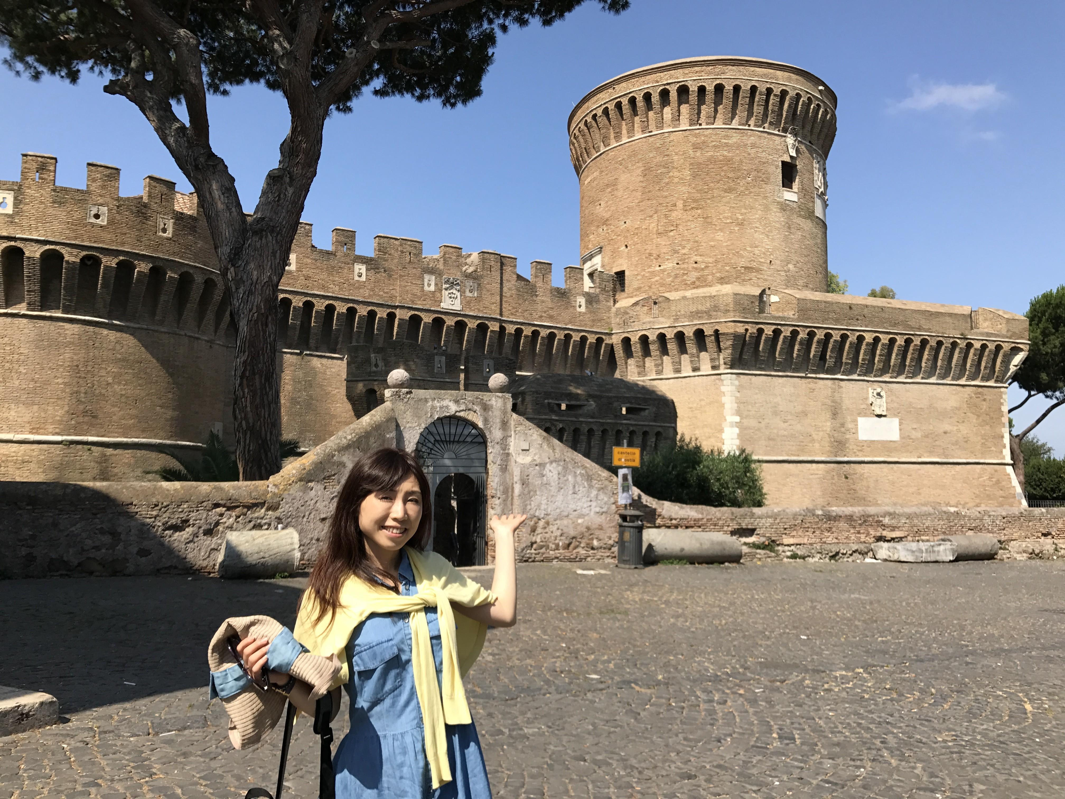 イタリア ジュリオ二世のお城 Castell di Giulio II
