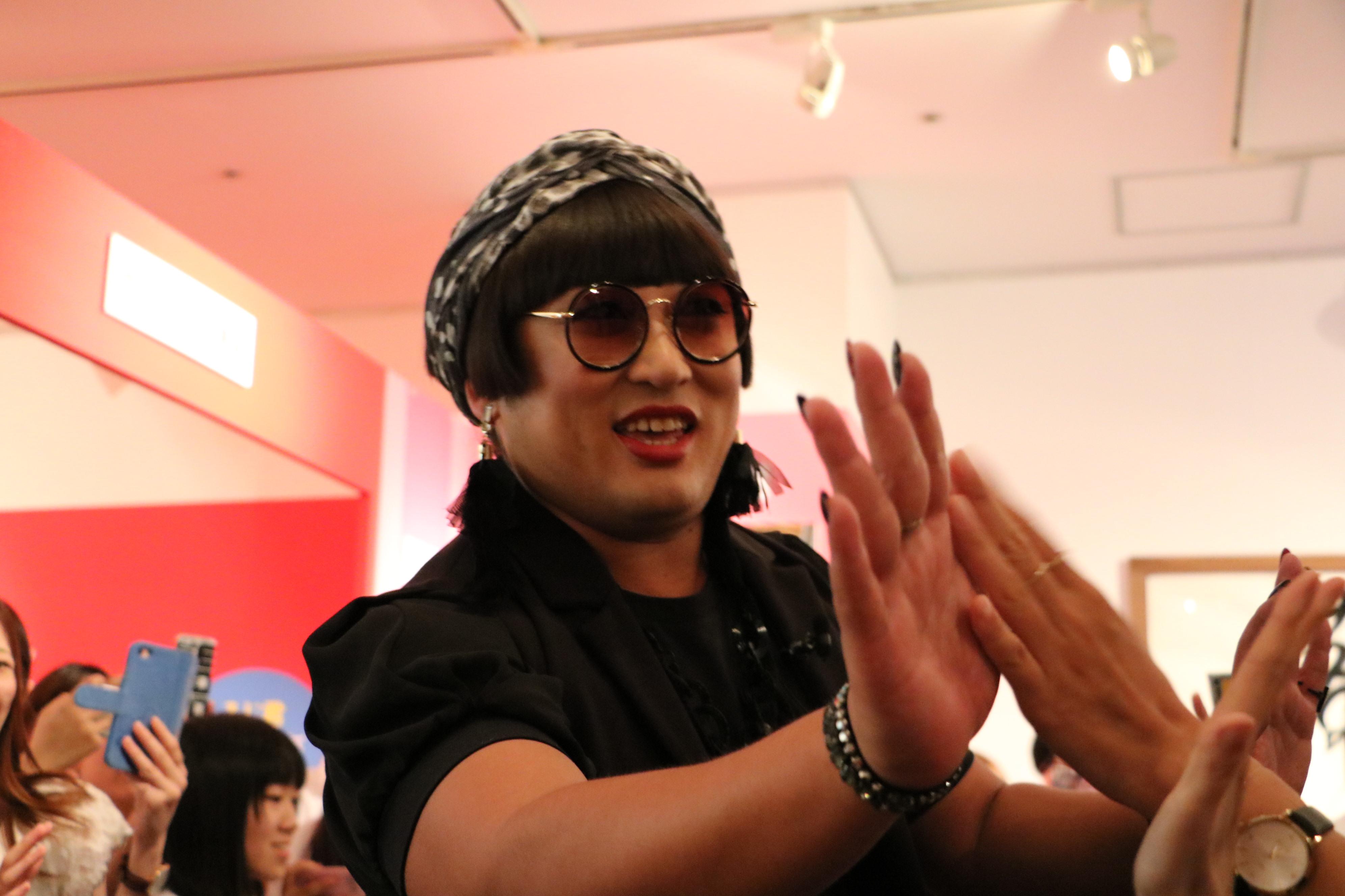 「クリエイターズ・ファイル祭」にYOKO FUCHIGAMIさん現る!