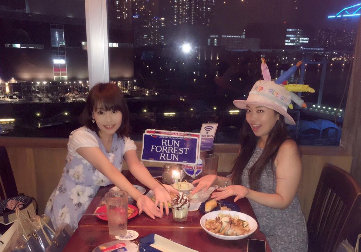 【豊洲】東京湾を一望出来る絶好のロケーションでシュリンプ誕生パーティー