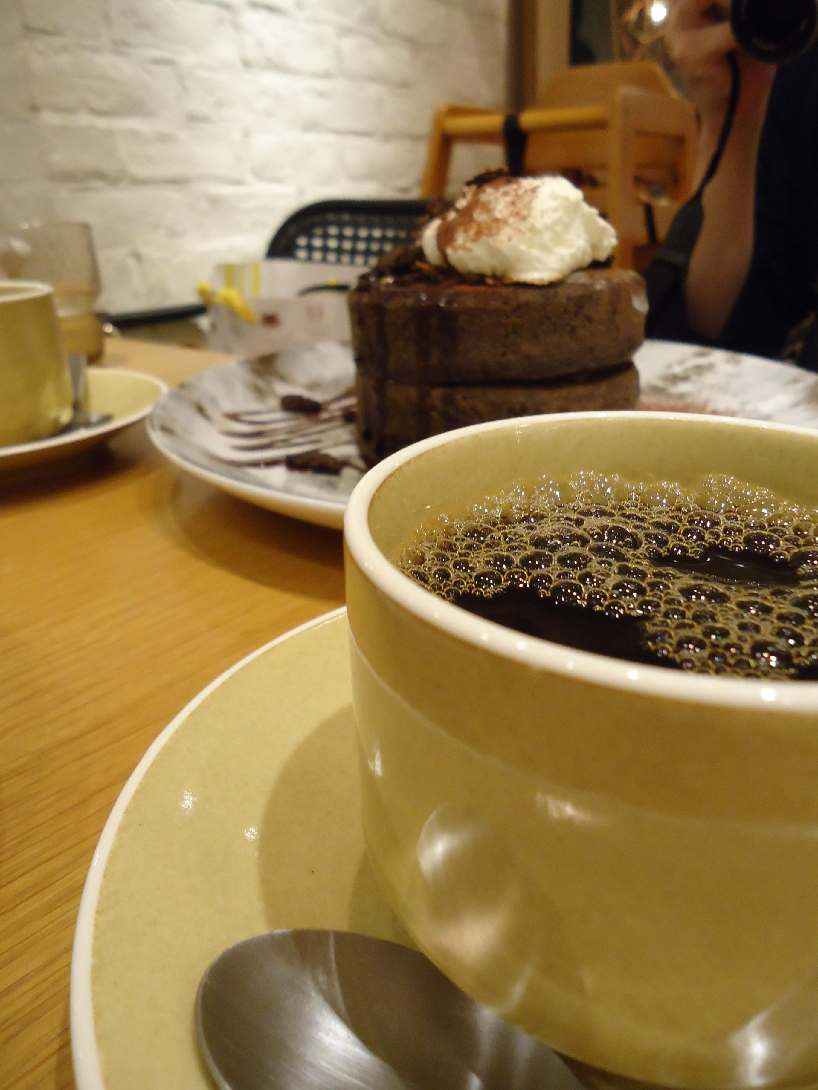 MARFA CAFE☆横浜駅近・隠れ家的お店のパンケーキ