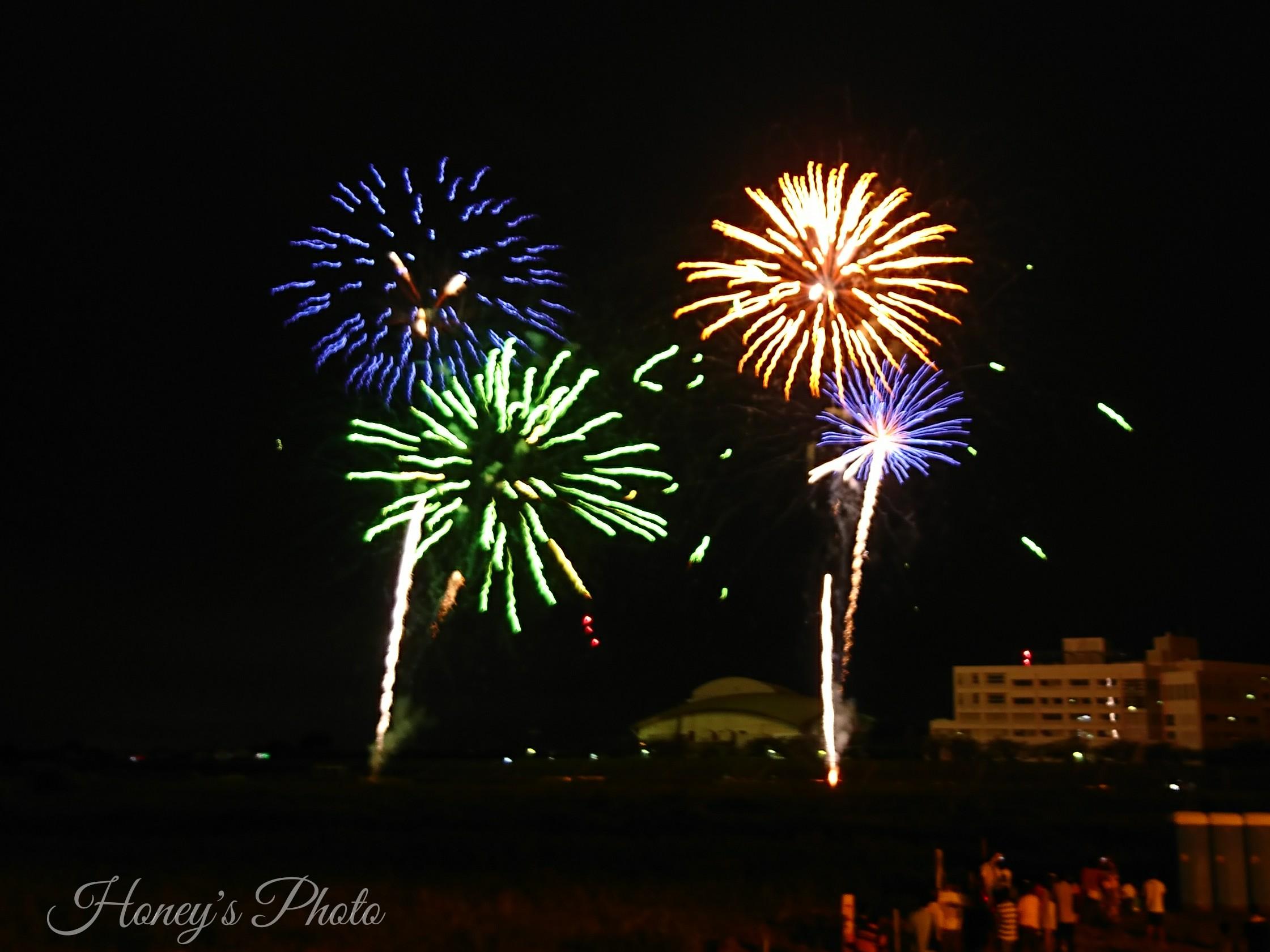 ☆【花火】今年も2万発上がりました!小山の花火は見応えあり ☆