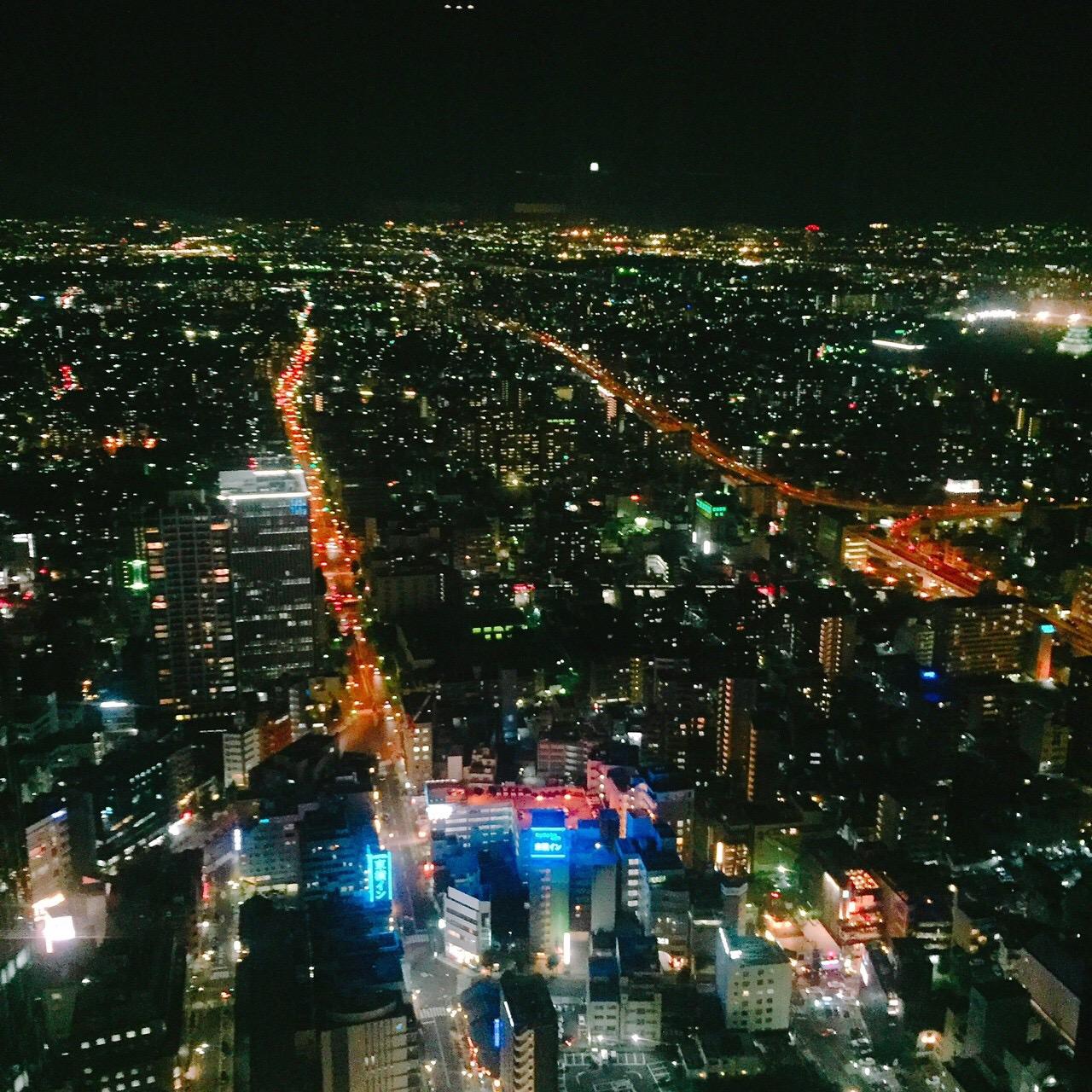 名古屋観光にもオススメ!名古屋を一望できる44階ビアガーデン