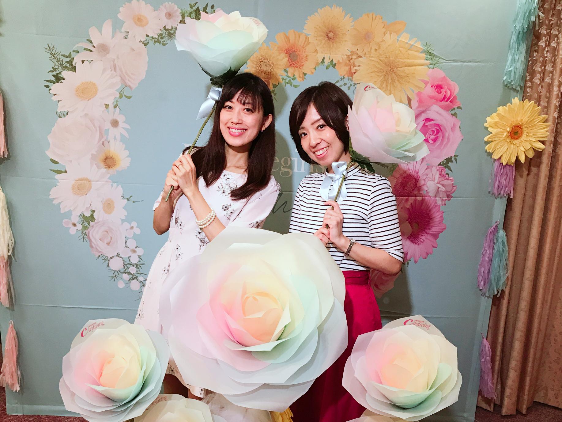OL夏祭りレポ♡Fashion Dairyトークショーとフォトスポット