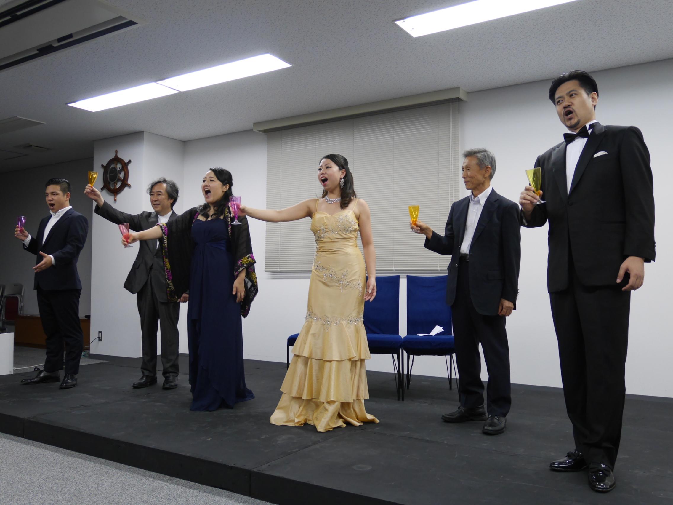 オペラって何?初心者のための「椿姫」セミナー&ミニコンサート