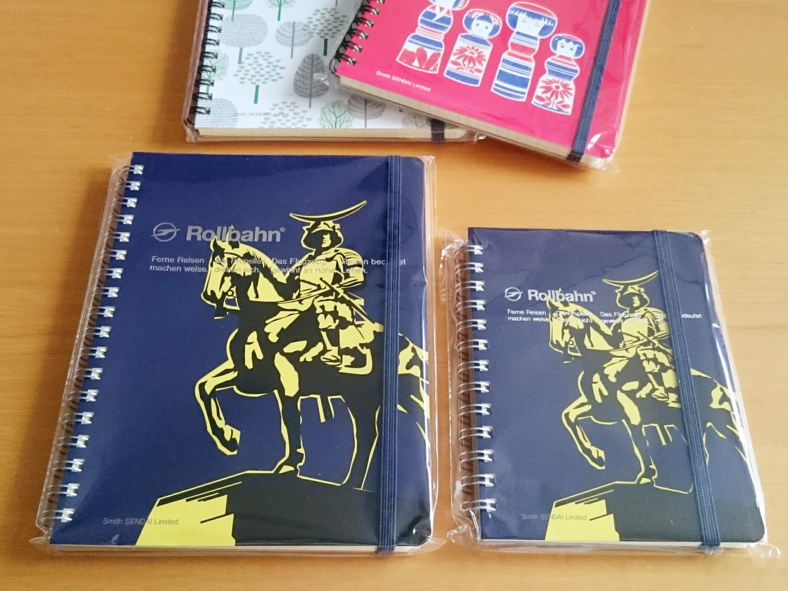 【Stationery】仙台限定☆ロルバーンのノート