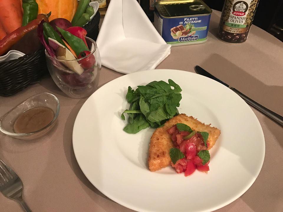 閑静な住宅街にある、素敵なレストランの料理教室へ行ってきました!
