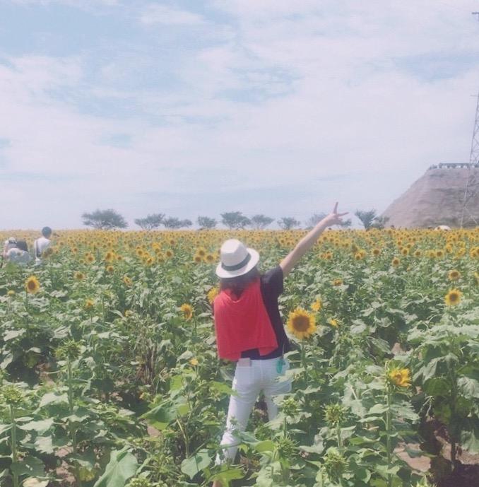 ひまわりだらけ♡〜観光農園花ひろば〜