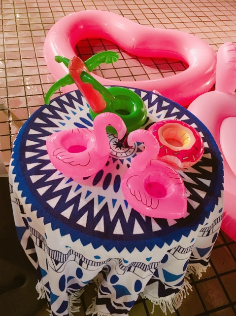 【SNS映え】ロイヤルオークホテルのナイトプールに行ってきました!!