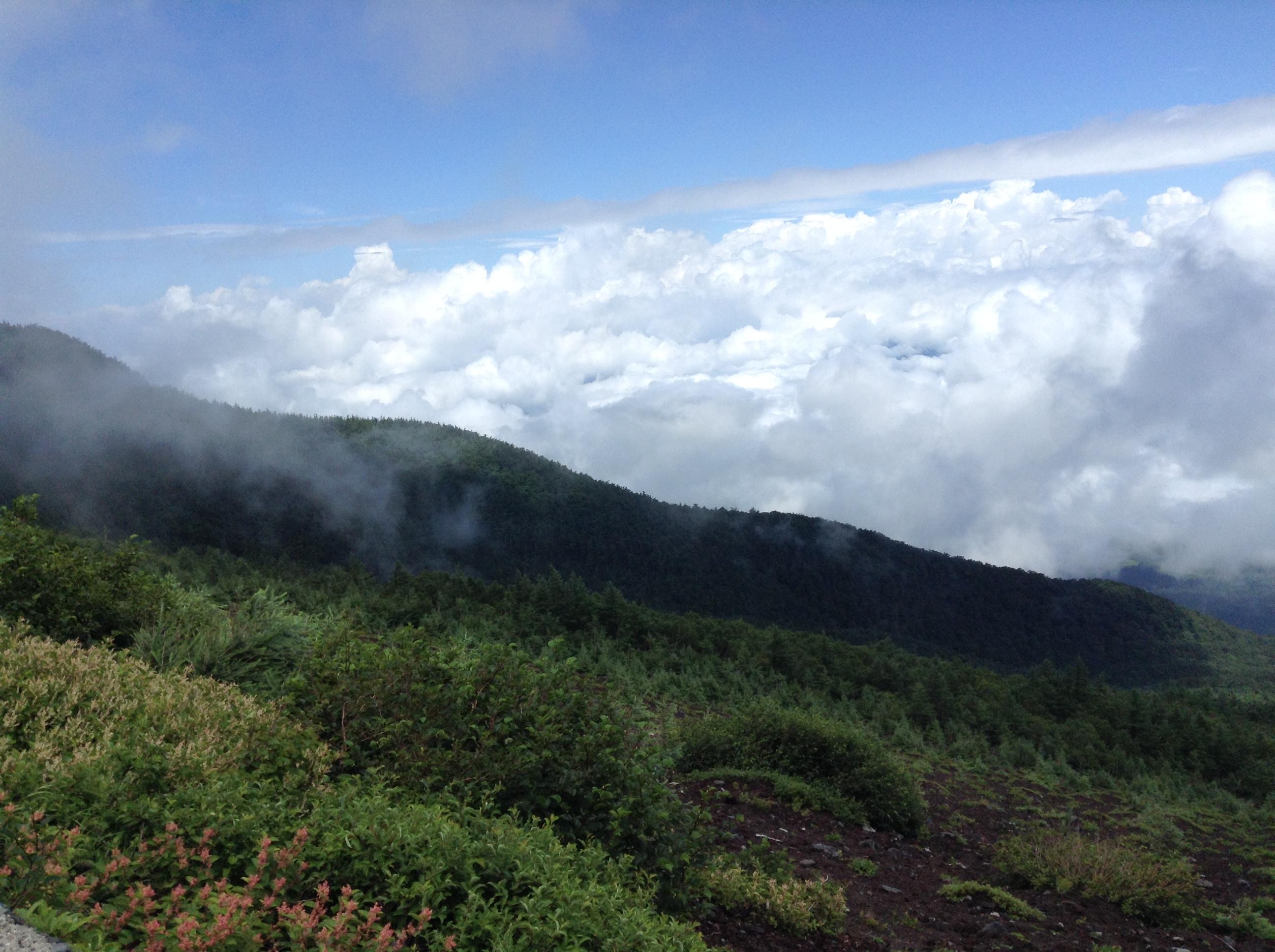 富士山3500M登山記録②☆超初心者の限界への挑戦