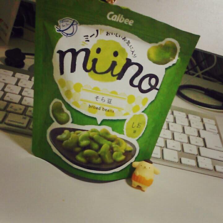 【小腹満たし】そら豆スナックmiinoが美味しすぎるっ!【都心限定】