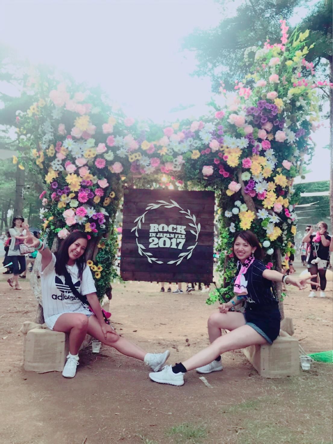 ROCK IN JAPAN FES.2017【2017/8/5】ロッキン行ってきました♡