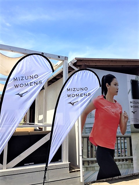 MIZUNO WOMENS×OTODAMA BEACH TERRACE