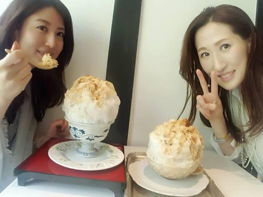 京都祇園で大人気かき氷のお店❤パスザバトンへやっと行けたよ
