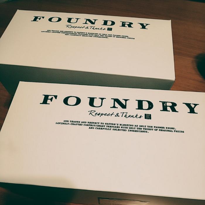 FOUNDRYのプリンサンドケーキ