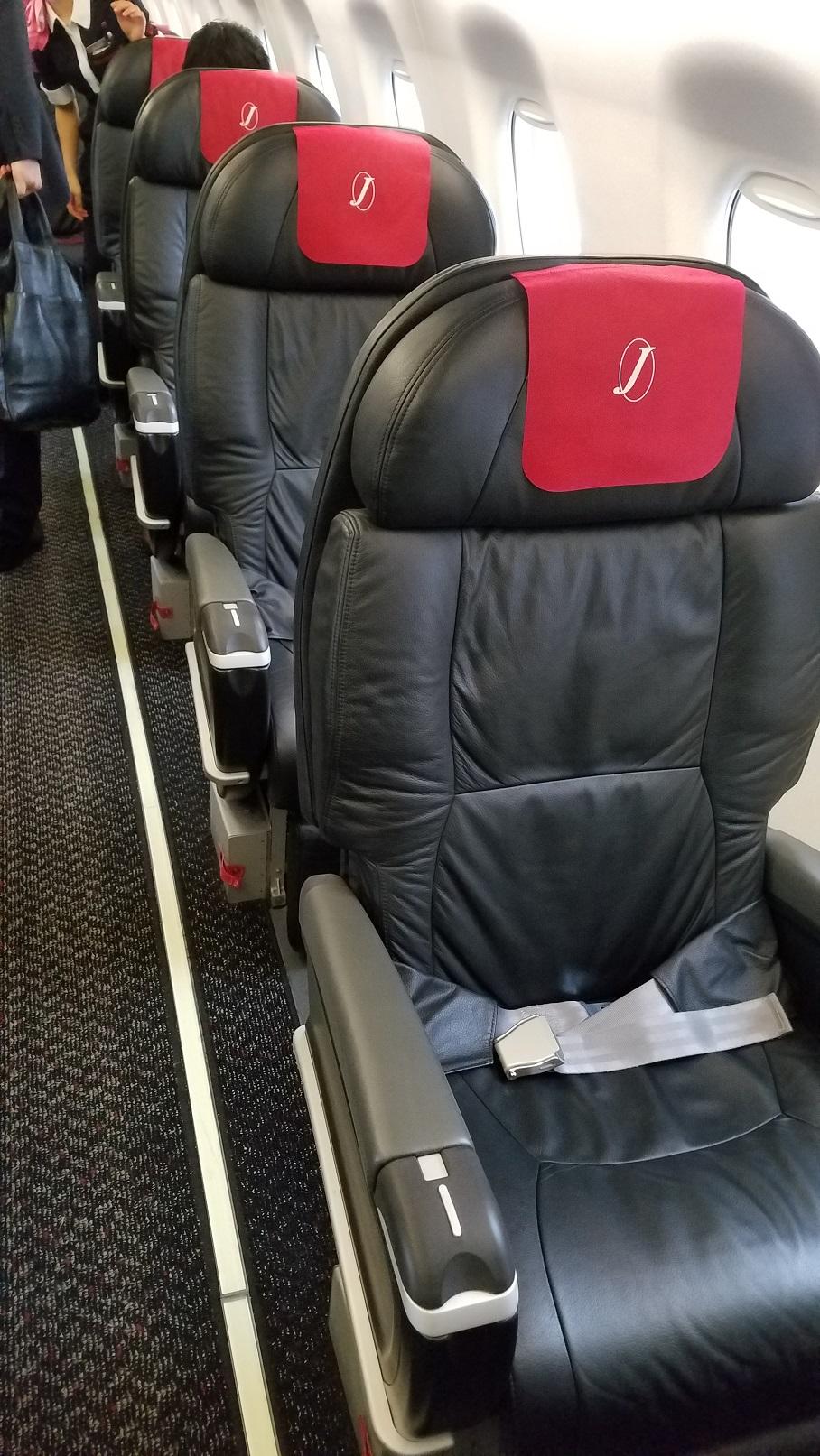 ★【JAL】新千歳~仙台便にもクラスJシートが!!!!★