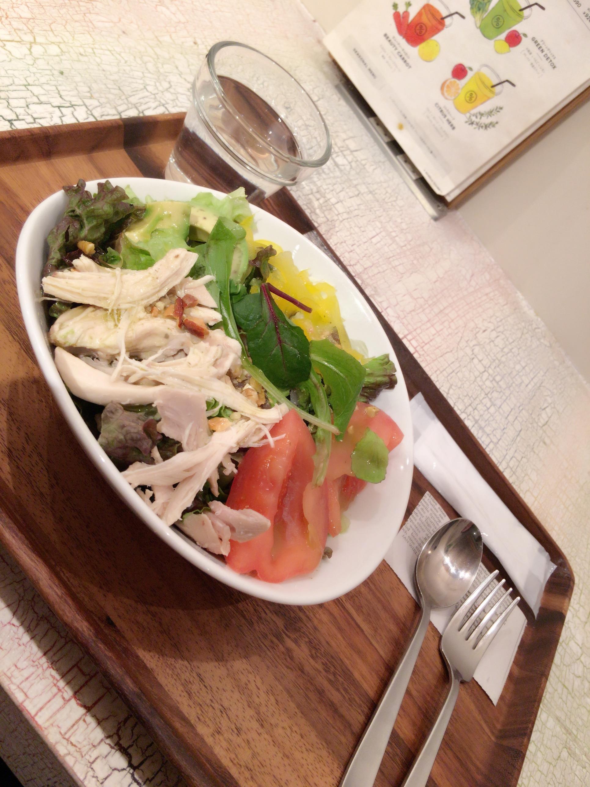 【サラダランチ3選!】ヘルシーだけど、お腹いっぱい♡