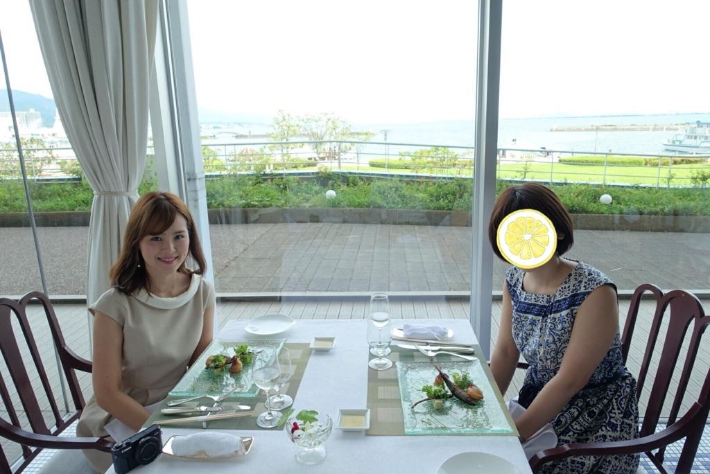 滋賀県の食材を堪能!琵琶湖ホテルでランチ