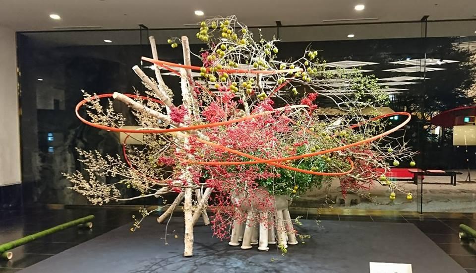 【ホテル雅叙園東京】いけばな×百段階段2017★51流派が集う花の祭典