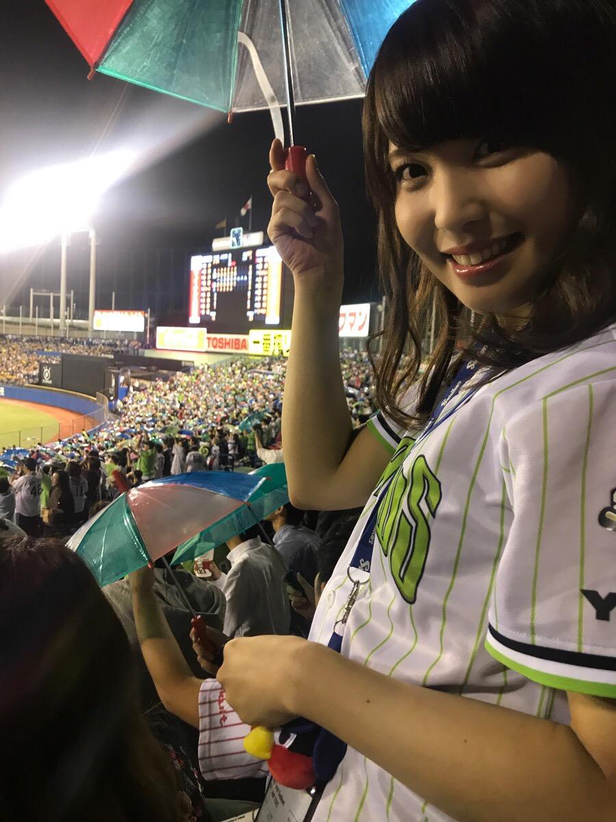 【野球観戦】神宮球場で燕(つばめ)女子になろう【ヤクルトスワローズ】