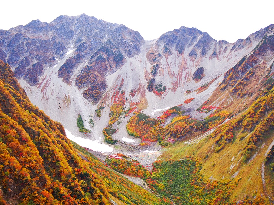 秋の絶景登山「涸沢カール」と憧れの山「奥穂高岳」④-パノラマコース編-