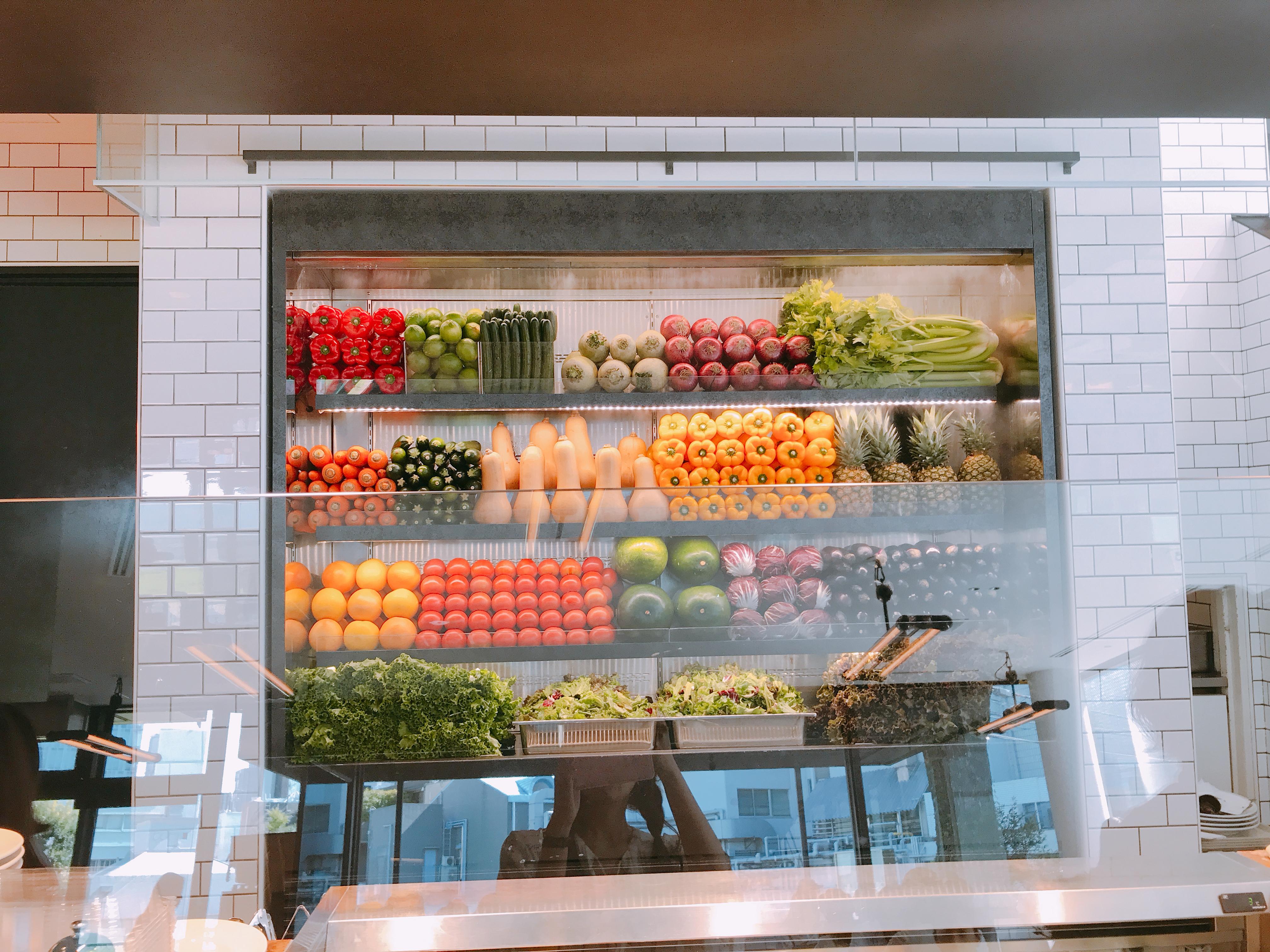 青山で野菜ランチ!