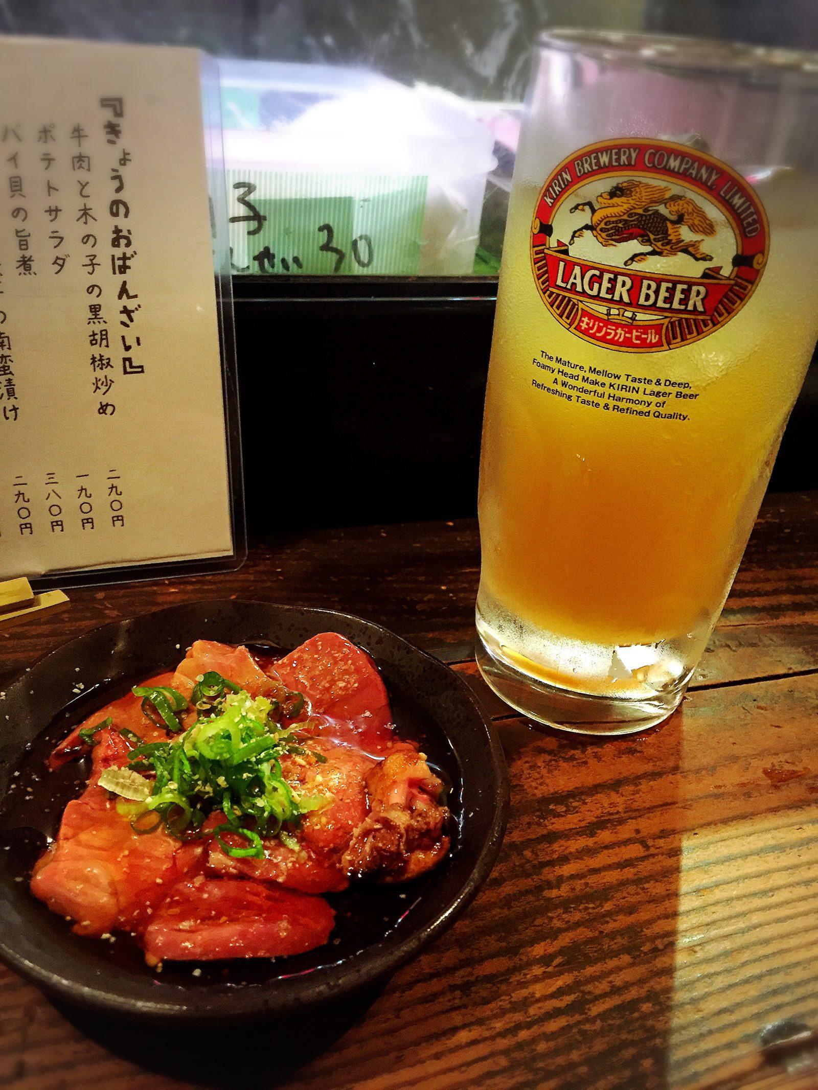 【居酒屋】お一人様でも下戸でも入りやすい立ち飲み屋 in福島