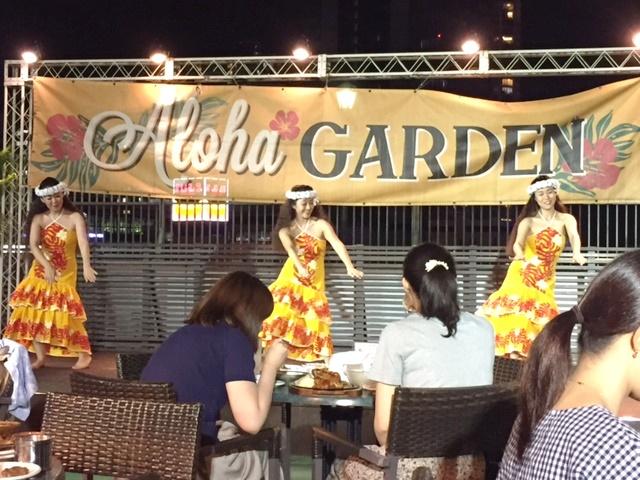 【夏の思い出その2】 Hawaiian Beer Garden♪♪