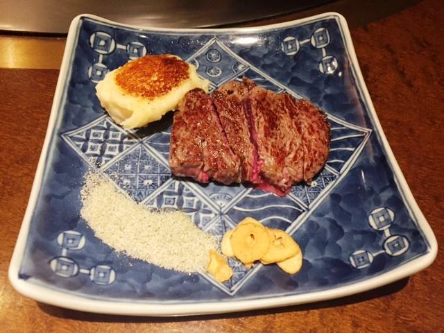 【横浜グルメ】 鉄板焼ダイニング「知喜多亭」横浜西口店