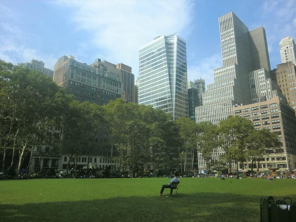 都会の中にも緑がいっぱい!公園いろいろ【NY一人旅】
