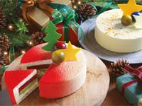 クリスマスだけの特別キャンペーン、クリスマスケーキ早期予約で 選べるうれしいプレゼント。お買い物でクリスマスギフトが当たる!